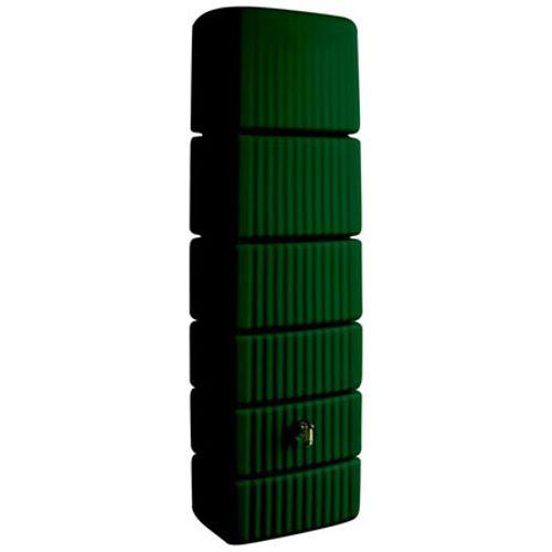 4Rain regenton 'Slim' groen 650 L
