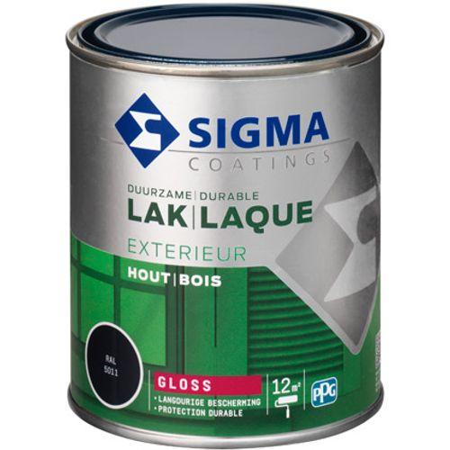 Laque Sigma bleu acier brillant 750ml