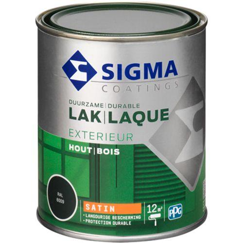 Laque Sigma vert sapin satin 750ml