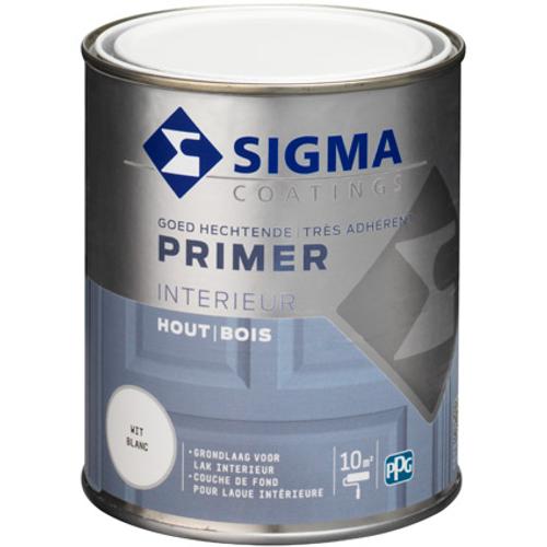 Primer intérieur Sigma blanc 750 ml