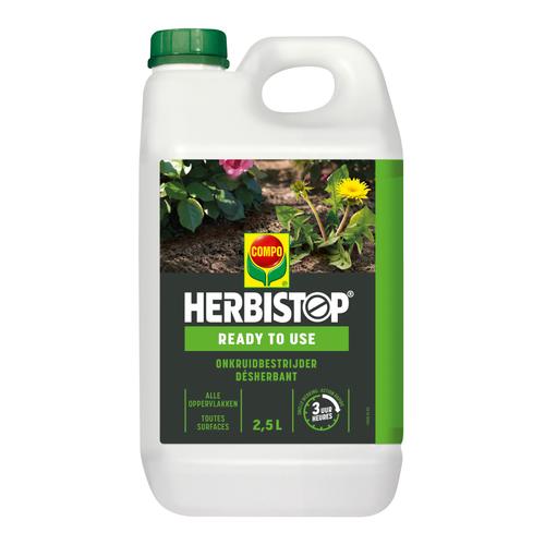 Compo Netosol Green Herbistop Ready onkruidbestrijder alle oppervlakken 2,5L 25m²