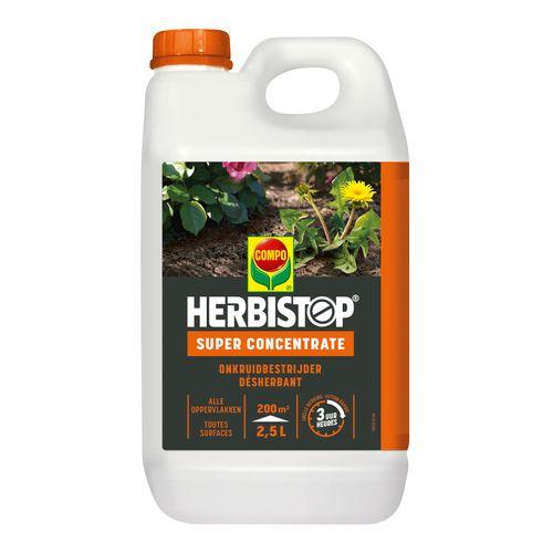 Herbicide total Compo Herbistop Super 200m² 2,5L