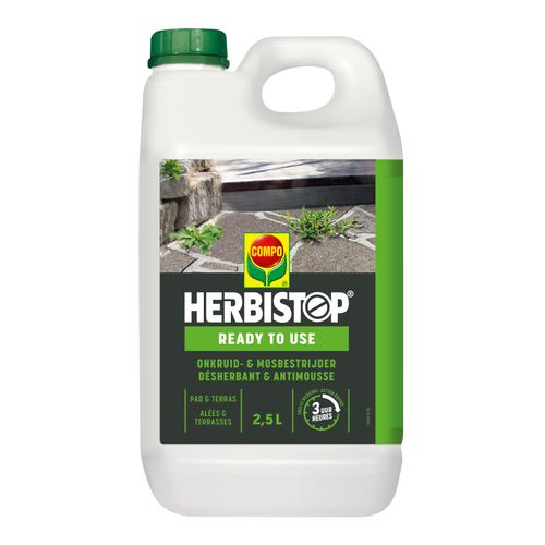 Compo Netosol Green totale onkruidbestrijder 'Herbistop Ready' pad & terras 2,5 L