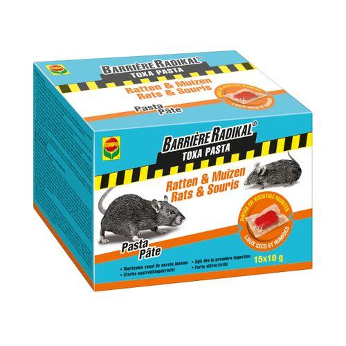 Compo anti-muizen en ratten pasta Barrière Radikal Toxa 150g