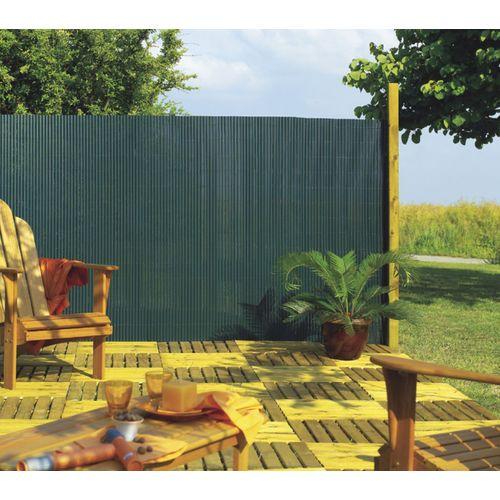 Brise-vue Nortene Plasticane canisse PVC vert 2x3m