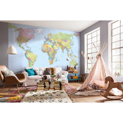 Photo murale Komar World map