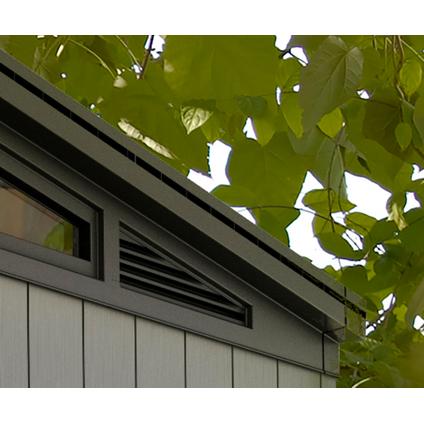 Keter tuinhuis Artisan 97 grijs 6m²