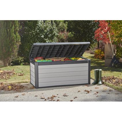 Coffre de jardin Keter Denali 570 gris anthracite 152x73cm