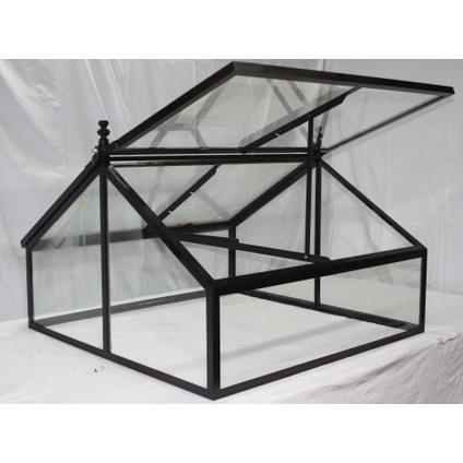 Mini-serre Les Potagers de Thomas verre 100x100x60cm
