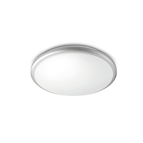 Philips plafondlamp LED Guppy grijs 12W