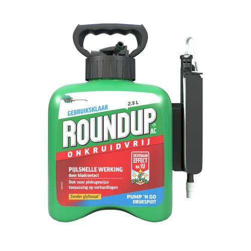 Roundup onkruidvrij Natural Drukspuit 2,5 liter