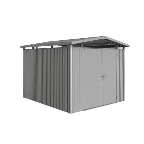 Abri de jardin Biohort 'Panorama 5-2' gris quartz métallique 7,36 m²