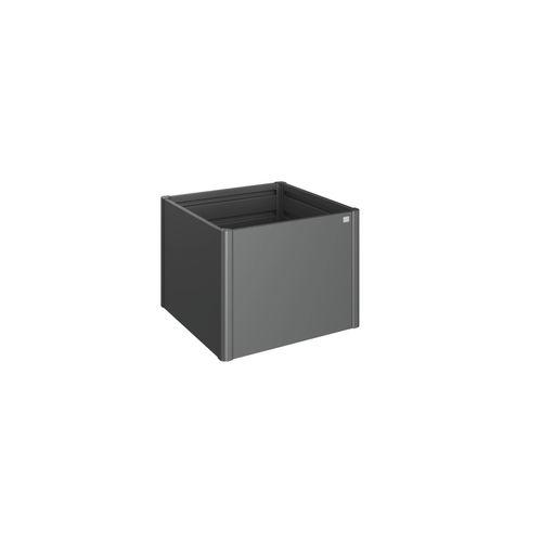 Biohort moestuinbak 1x1 donkergrijs metallic 102x102x77cm
