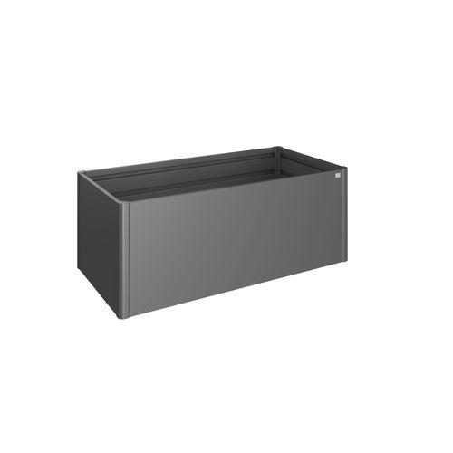 Biohort moestuinbak 2x1 donkergrijs metallic 201x102cm