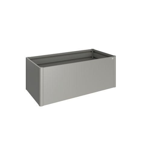 Biohort moestuinbak 2x1 kwartsgrijs metallic 201x102x77cm