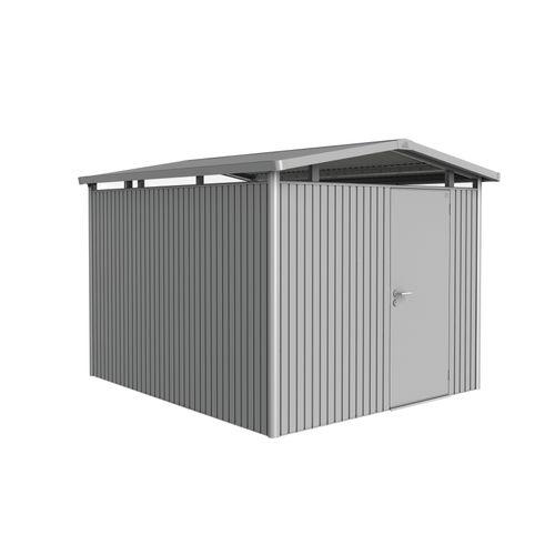 Abri de jardin Biohort 'Panorama 5-1' argent métallique 7,36 m²