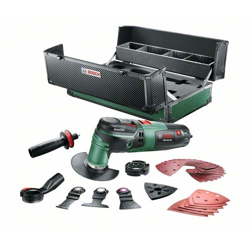 Bosch multitool PMF250CES 250W incl. accessoires