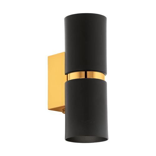 EGLO wandlamp LED Passa zwart 2x4W