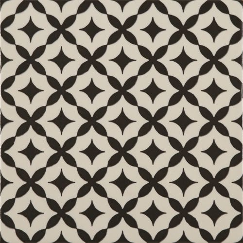 Wand- en vloertegel Stelle Bianco 22,5x22,5cm