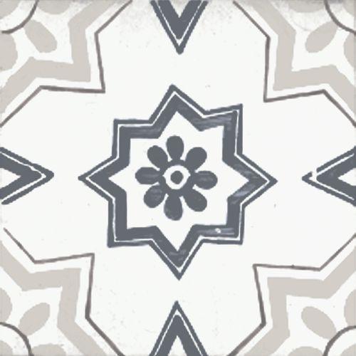 Wand- en vloertegel Vintage Perla 22,5x22,5cm