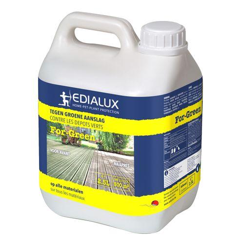 Liquide anti-dépôts Edialux For-Green 2,5L 500m²