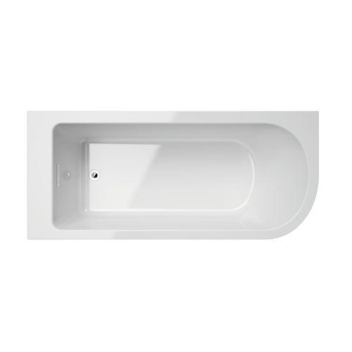 Allibert vrijstaand hoekbad Serena links 170x75x56cm acryl