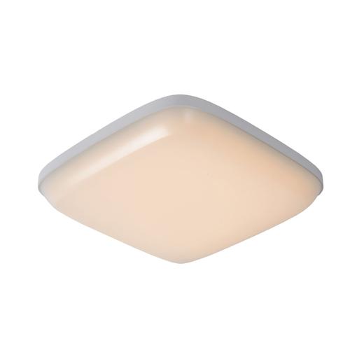 Lucide plafondlamp Tisis led wit vierkant 24W