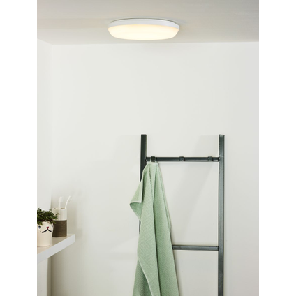 Lucide plafondlamp Tisis led wit rond 24W