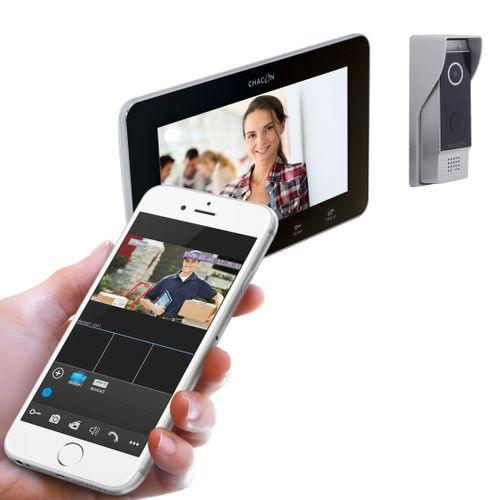 Chacon videointercom 2 draden + internet optie