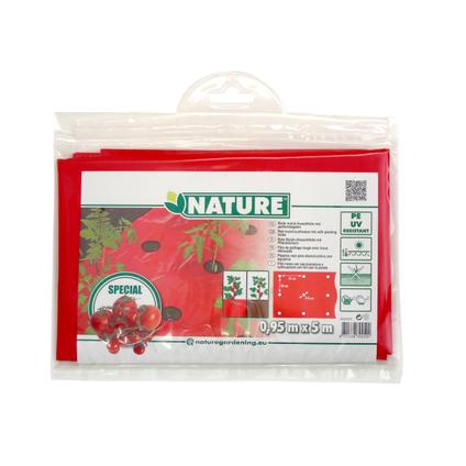 Film de paillage pour tomates Nature 5 x 0,95 m