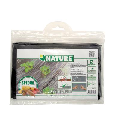 Film de paillage pour pommes de terre Nature 10 x 0,95 m