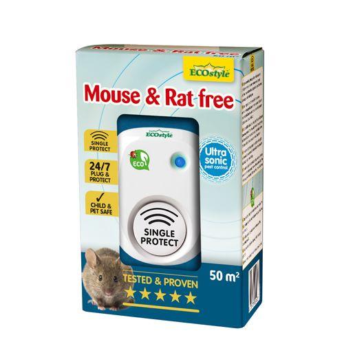 Ecostyle muizen- en rattenverjager Mouse & Rat Free 50m²