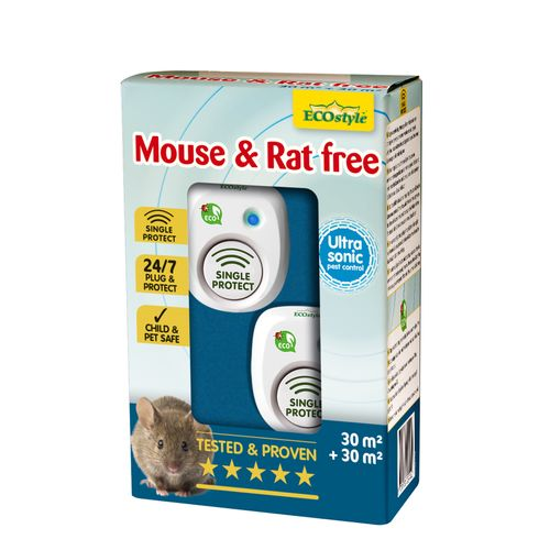 Ecostyle muizen- en rattenverjager Mouse & Rat Free 30m²