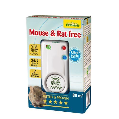 Ecostyle muizen- en rattenverjager Mouse & Rat Free 80m²