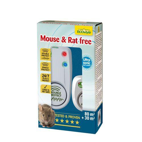 Ecostyle muizen- en rattenverjager Mouse & Rat Free 80m² + 30m²