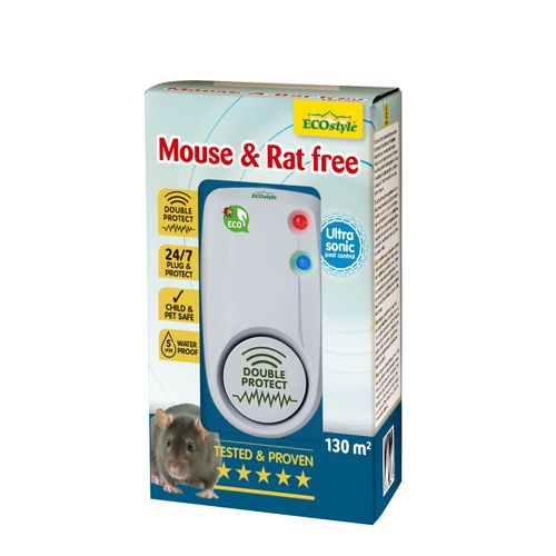 Ecostyle verjager Mouse & Rat Free 130m²