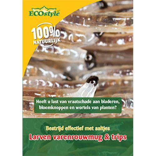 Ecostyle aaltjes tegen larven Varenrouwmug 50 mln/ 50m²