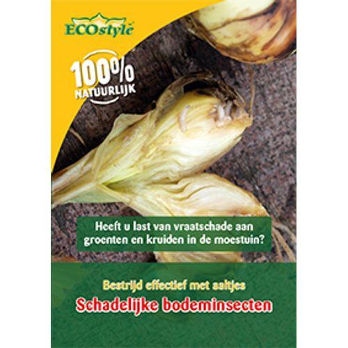 Ecostyle aaltjes tegen larven van de Wortelvlieg 60m²