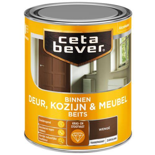 CetaBever Deur, Kozijn & Meubelbeits Wengé Zijdeglans 0,75L