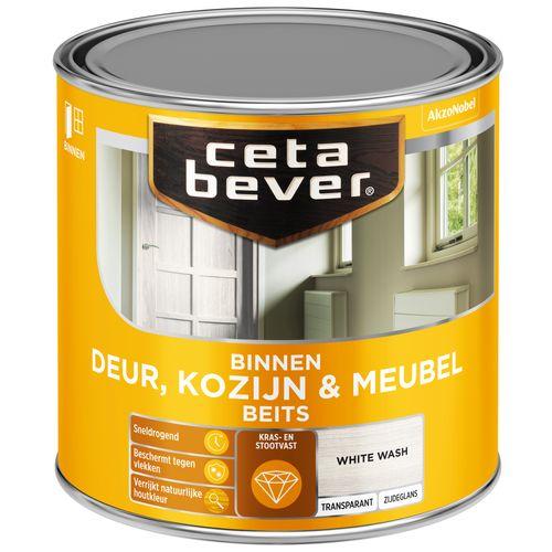 CetaBever binnenbeits D&K 0591 white wash transparant 250ml