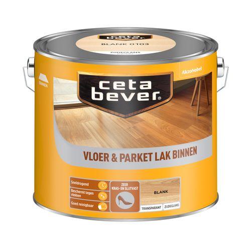 CetaBever beits transparant Vloer - & Parketlak blank 2,5L