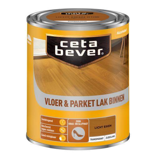 CetaBever beits transparant Vloer - & Parketlak licht eiken 750ml