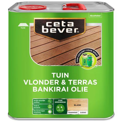 CetaBever vlonder- en terrasolie bankirai uv 2,5l