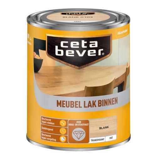 CetaBever Meubellak Blank Mat 0,75L