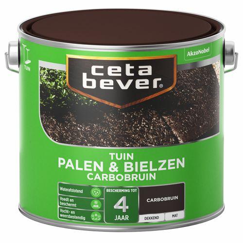CetaBever Palen & Bielzen Klassiek bruin Mat 2,5L