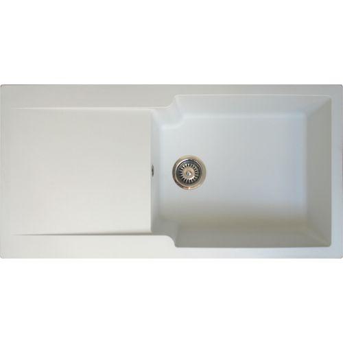 EsseBagno spoelbak Lisse wit 1 groot bak 100x50cm
