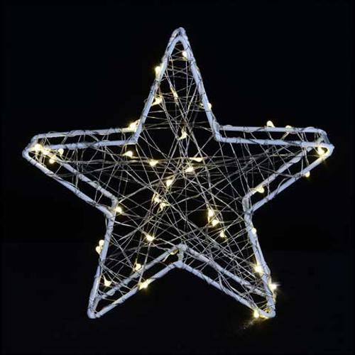 Décoration de Noël poinsettia Central Park 33,5cm