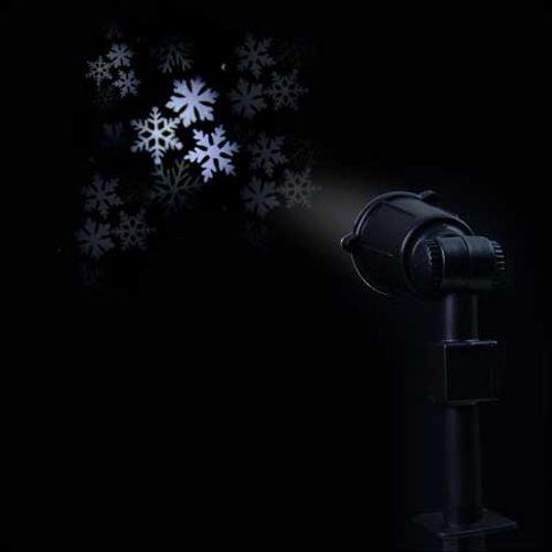 Central Park laserprojector sneeuwvlokken