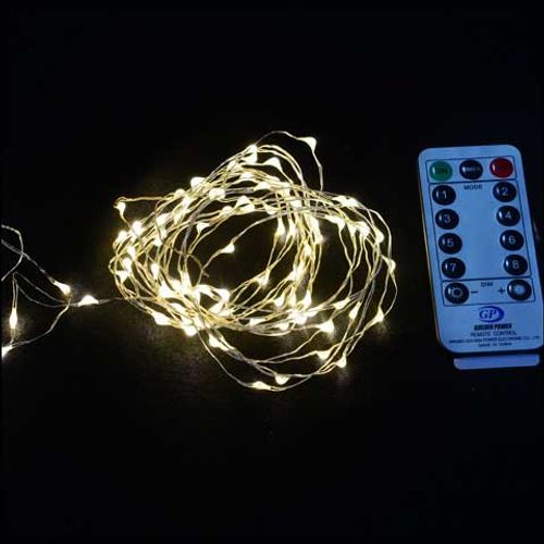 Central Park kerstverlichting 100 microleds 9,95m