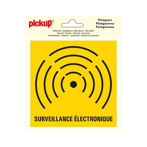 Pickup pictogram 'camerabewaking' 150x150mm
